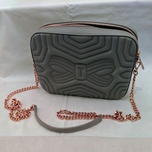 Ted Baker Bags - Ted Baker Quilted Leather Crossbody Bag